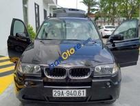 Bán BMW X3 AT đời 2004, màu đen, giá 475tr