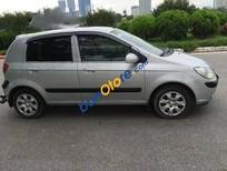 Bán ô tô Hyundai Getz MT đời 2009, màu bạc đã đi 110000 km