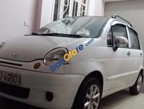 Cần bán gấp Daewoo Matiz MT đời 2004, màu trắng số sàn