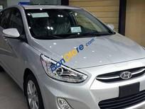 Cần bán Hyundai Accent 1.4 AT đời 2015, màu bạc
