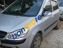 Cần bán lại xe Hyundai Getz MT 2009, màu bạc số sàn, giá chỉ 216 triệu