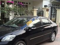 Cần bán gấp Toyota Vios MT đời 2010, màu đen số sàn