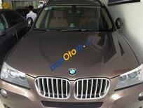 Cần bán gấp BMW X3 AT đời 2011, màu nâu, nhập khẩu