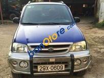 Cần bán gấp Daihatsu Terios MT sản xuất 2005, màu xanh lục số sàn, 255tr