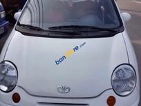 Cần bán lại xe Daewoo Matiz đời 2008, màu trắng