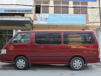 Bán ô tô Toyota Hiace 12 chỗ 2002, màu đỏ, giá 179tr