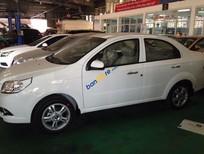 Bán xe Chevrolet Aveo 1.5 LT đời 2016, màu trắng