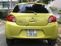 Bán xe Mitsubishi Mirage sản xuất 2014, màu vàng số tự động
