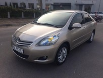 Cần bán lại xe Toyota Vios 1.5 E đời 2010, màu bạc, giá tốt