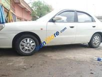 Cần bán gấp Daewoo Nubira MT đời 2003, màu trắng, xe cũ