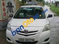 Bán ô tô Toyota Vios MT sản xuất 2010, màu trắng, giá 280 triệu