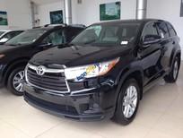 Giao ngay xe mới nhập khẩu Mỹ Toyota Highlander LE màu đen