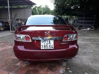 Cần bán xe Mazda 6 đời 2003, màu đỏ, 290tr