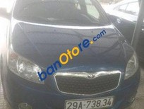 Cần bán lại xe Daewoo Gentra MT đời 2009, màu xanh