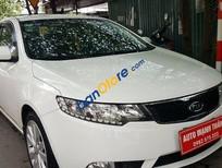 Cần bán Kia Forte 1.6 MT đời 2013, màu trắng