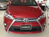 Cần bán xe Toyota Yaris đời 2016, màu đỏ