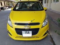 Bán xe Chevrolet Spark LT đời 2014, màu vàng