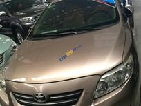 Bán xe Toyota Corolla Altis 1.8AT đời 2008, màu nâu giá cạnh tranh