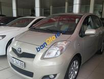 Bán xe Toyota Yaris AT năm 2010, màu ghi vàng