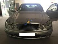 Cần bán lại xe Mercedes E240 đời 2002, màu bạc, nhập khẩu nguyên chiếc chính chủ