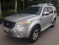 Cần bán Ford Everest 4X4WD MT đời 2010, màu bạc giá cạnh tranh