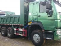 Bán xe tải ben 3 chân thùng vuông hổ vồ, Howo Ninh Bình 0964674331 trả góp 500 triệu
