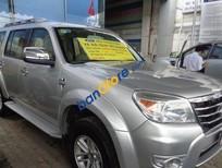 Cần bán Ford Everest MT đời 2009, màu bạc số sàn, giá 585tr
