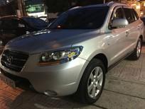 Cần bán Hyundai Santa Fe MLX đời 2009, màu bạc