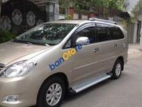 Cần bán xe Toyota Innova MT 2009, màu nâu số sàn