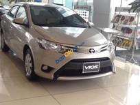 Bán ô tô Toyota Vios G đời 2016, màu ghi vàng