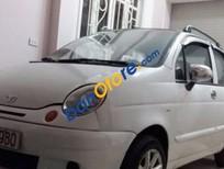 Cần bán lại xe Daewoo Matiz MT đời 2004, màu trắng số sàn
