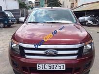 Bán Ford Ranger đời 2014, màu đỏ, giá 550tr