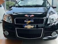 Bán xe Chevrolet Aveo LT đời 2016, màu đen, giá chỉ 445 triệu
