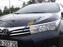 Cần bán xe Toyota Corolla altis sản xuất 2015, màu đen