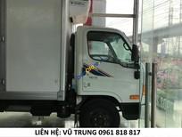 Bán xe Hyundai HD72 nhập khẩu, chuyên dụng thùng đông lạnh tải trọng hàng hóa 7,3tấn, có xe giao ngay