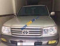 Cần bán gấp Toyota Land Cruiser sản xuất 2005, xe cũ