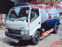 Cần bán xe chuyên dùng  Hino xe téc xăng dầu 2016, nhập khẩu nguyên chiếc
