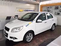 Cần bán Chevrolet Aveo 1.5 LT năm 2016, màu trắng, 445 triệu