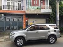 Cần bán Toyota Fortuner V đời 2011, màu bạc giá cạnh tranh