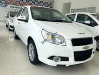 Bán xe Chevrolet Aveo LT đời 2016, màu trắng, giá tốt