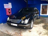 Bán ô tô Mercedes E240 Elegance năm 2001, màu đen số tự động