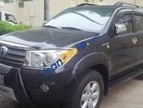 Bán Toyota Fortuner AT 2011, màu đen, giá tốt
