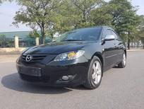 Bán ô tô Mazda 3 1.6 AT đời 2004, màu đen, giá tốt