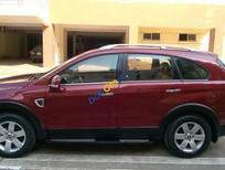 Cần bán Chevrolet Captiva LT năm 2007, màu đỏ