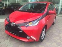 Xe mới nhập khẩu Châu Âu Toyota Aygo màu đỏ, giao ngay