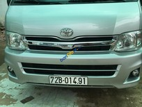 Bán Toyota Hiace đời 2011, màu bạc, 500 triệu