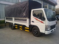 Bán xe tải Fuso Canter 4.7LW tải trọng 2 tấn thùng dài 4.1m giá rẻ, trả góp, khuyến mãi lớn tháng 10