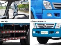Xe tải thaco ollin800a 2 chân gắn cẩu 3 khúc , 4 khúc tải trọng 5t8