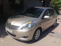 Bán xe Toyota Vios 1.5 E đời 2010, màu vàng chính chủ tên tôi