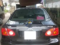 Cần bán gấp Toyota Corolla altis đăng ký 2003, màu đen xe gia đình, giá tốt 260 triệu